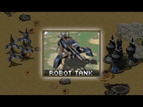 Red Alert 2: Yuri's Revenge - Testing Robot Tanks
