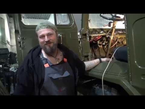 Реанимация ГАЗ 66 с консервации Ввалили 130к