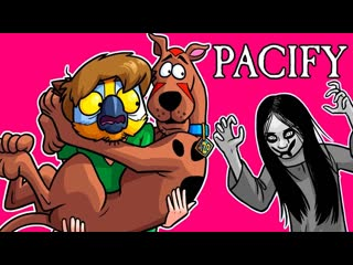 Михакер 👻 pacify смешные моменты (перевод) - команда скуби ду, призрак и куклы (vanossgaming)