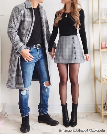 """💜 Kerina Wang on Instagram """"6 matching couples outfits! 👫Tag your bae make sure to save this vid! 💕 Click link in bio for direct links to our ou..."""