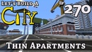 How To Build A City :: Minecraft :: Thin Apartments :: E270