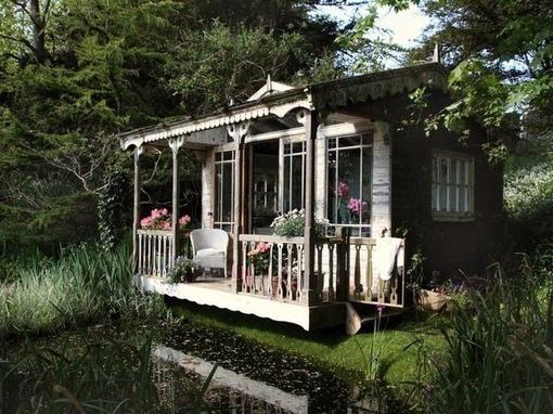 Волшебный дачный домик
