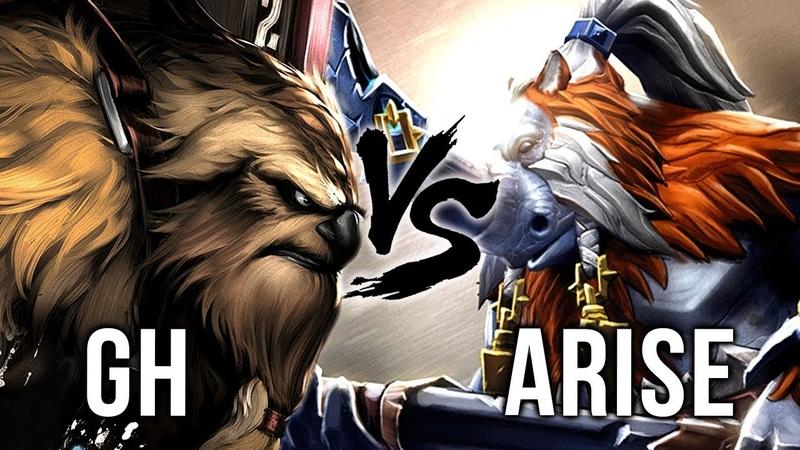 Ar1Se- BEST Magnus vs BEST Earthshaker TI7 Champion GH - Battle of Legends - Dota 2 EPIC Gameplay