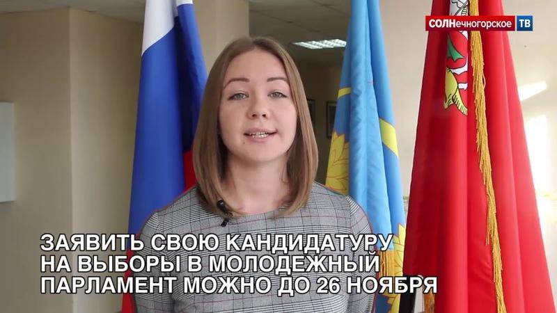 В Солнечногорске выберут Молодежный парламент