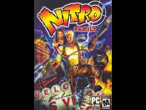 Прохождение игры Nitro Family 9 Атака на самолете