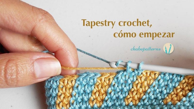 Tapestry crochet cómo empezar