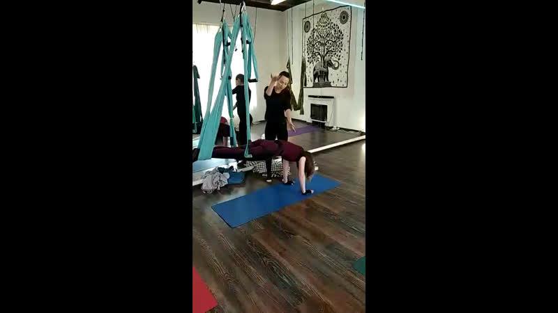 Правки Йога в гамаке. Курс для преподавателей.fly yoga. Обучение.отстройка. Воздушная Йога в гамаке