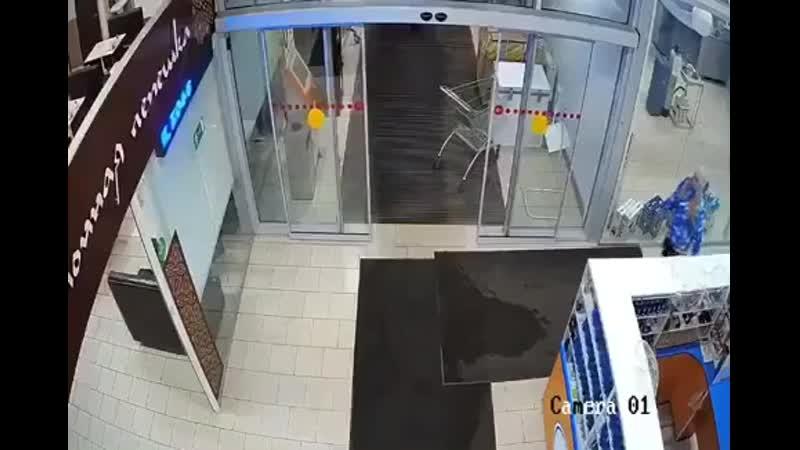 Потихой украли ковер