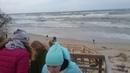 Storm na baltike alt=excursion curonian spit