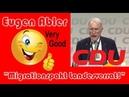 👍 Mutige Rede von Eugen Abler auf dem CDU-Bundesparteitag: Der Migrationspakt sei Landesverrat!