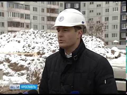 Мэр Ярославля оценил ход строительства яслей и детского сада