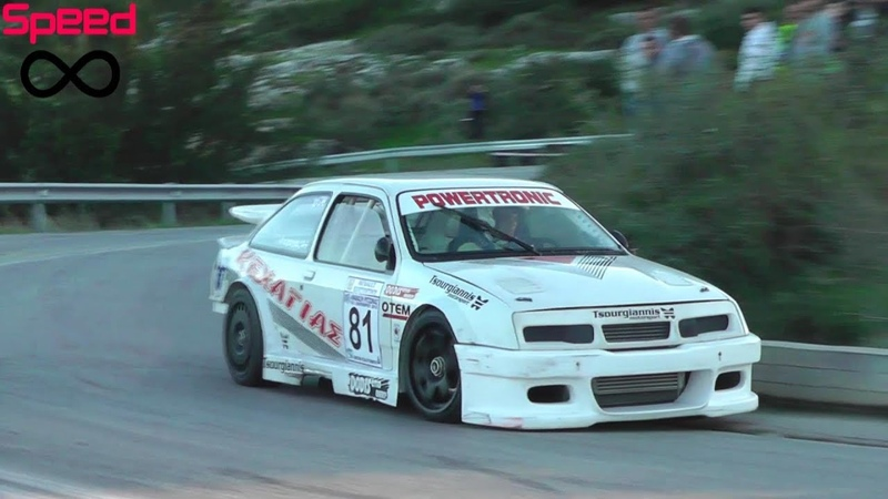 Ford Sierra Cosworth RS500 Flames Drifts Pure Sound