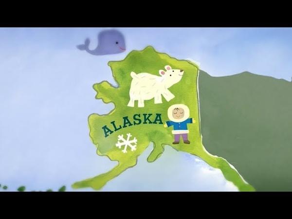 Уткиагвик Аляска Aмерика Большое путешествие №3