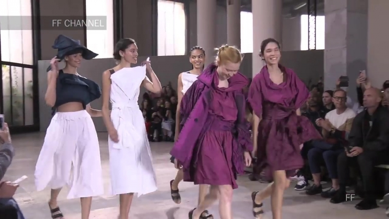 Issey Miyake Spring Summer 2019 Full Fashion Show Exclusive