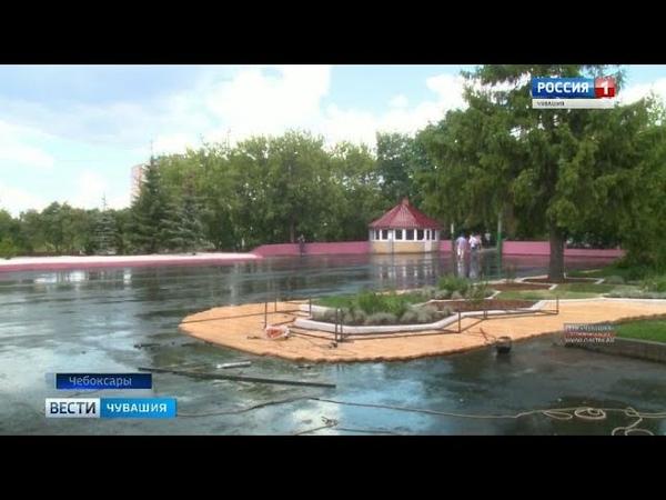 К юбилею столицы в Лакреевском лесу реконструируют входную группу