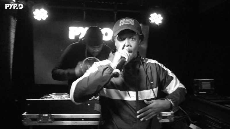 General Courts PK - PyroRadio x Mean Streets Records @ BeatBox BoxPark Shoreditch - (06/12/2018)
