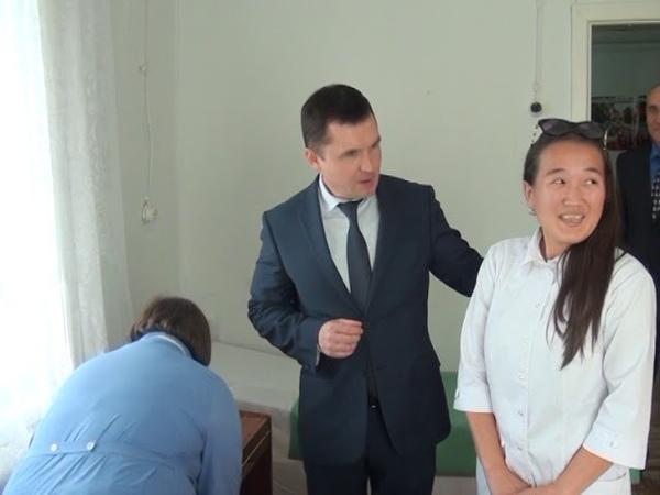 Рабочий визит депутата Бонковского. Поездка в ФАПы
