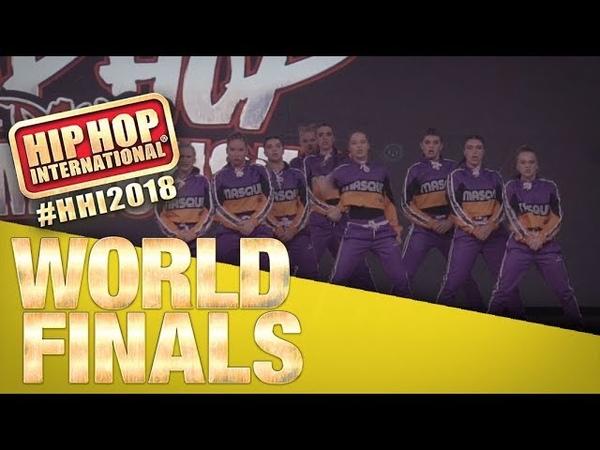 Masque - New Zealand   Bronze Medalist Varsity Division at HHI's 2018 World Finals