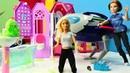 Un extraterrestre en la casa de Barbie. Vídeo para niñas.