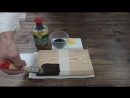 Как наносить масло с твердым воском GAPPA - Часть 2