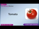 Learn English - English Vocabulary Lesson 14 - Vegetables