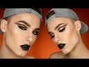 GOLD BLACK Egyptian Inspired Cut Crease | Makeup Tutorial