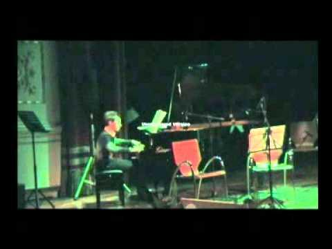L'Orologio degli Dei Giovanni Allevi al pianoforte Costantino Carrara
