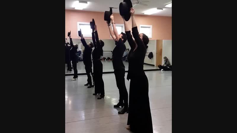 Zorongo, хореография Хосе Мальдонадо для compañía Flamenco Vivo Carlota Santana