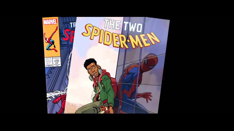 ЧЕЛОВЕК ПАУК • MARVEL • Miles Morales • SPIDER MAN • Питер Паркер