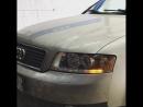 Audi A4 B6💥 ▫️ замена штатных выгоревших галогеновых линз на новые ксеноновые би-линзы ▫️ установка дневного ходового огня с ф