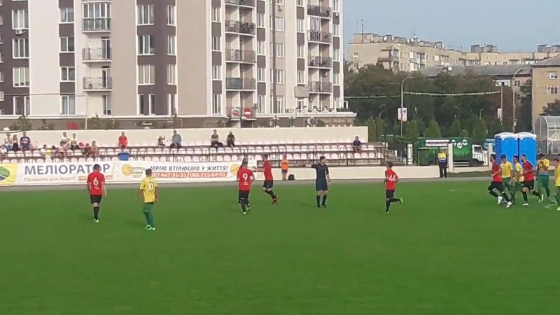 Третій гол Алієва за Меліоратор - девяточка