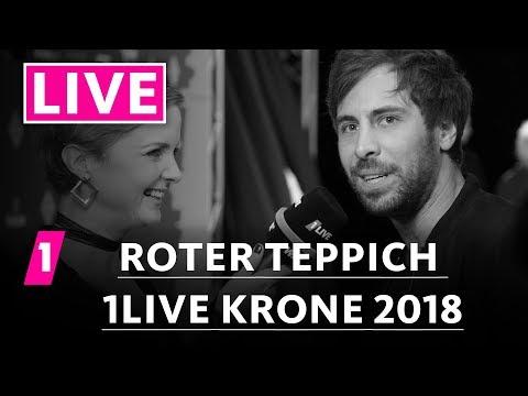 1LIVE Krone 2018   Der Rote Teppich