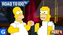 The Simpsons Game [Road to 100%] [04] - The Old VS The New!