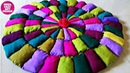 HOW TO MAKE DOORMAT OLD CLOTH RECYCLING /REUSE IDEA HOW TO MAKE RUG WEB GALLERY OF ART COOL DIYS