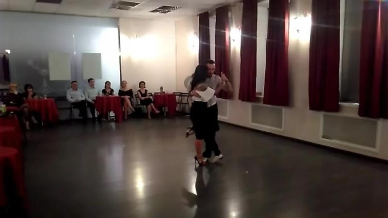 Александр Сухов и Нина Конская Милонга El Salon 12.10.18