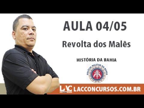 Revolta dos Malês Historia da Bahia PM BA 04 05