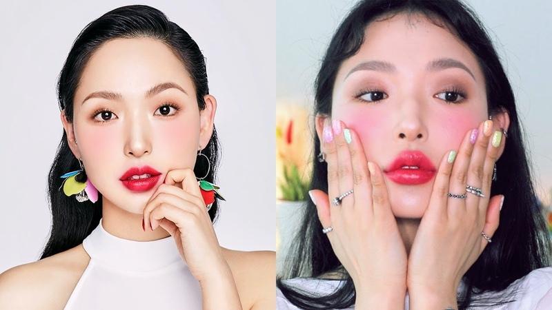 헤라 센슈얼틴트 라즈베리 메이크업 Hera Sensual Tint Raspberry Make up