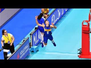 Top 20 legendary volleyball saves. vnl 2019 (hd).