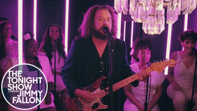 Jim James - Everyday People (The Tonight Show Starring Jimmy Fallon)
