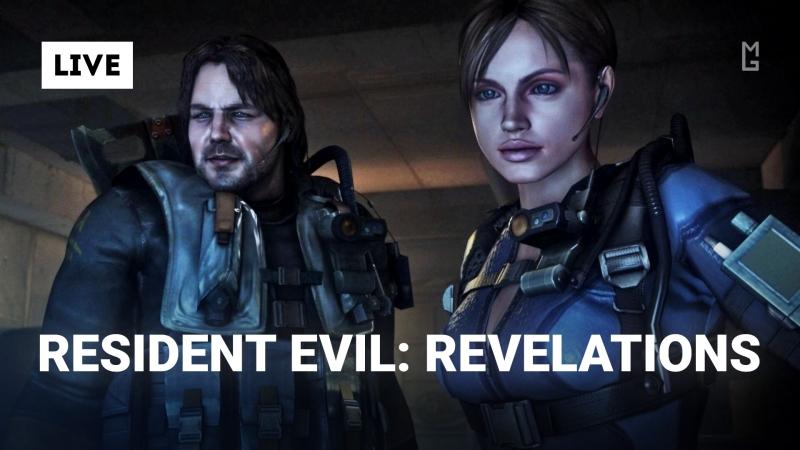 Resident Evil Revelations на хардкоре MG Live feat WildGamer Стрим
