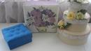 DIY: картонаж от А до Я. Коробка с каретной стяжкой
