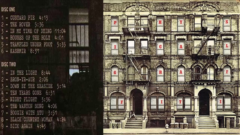 Led Zeppelin - Physical Graffiti 1975 (Full Album)