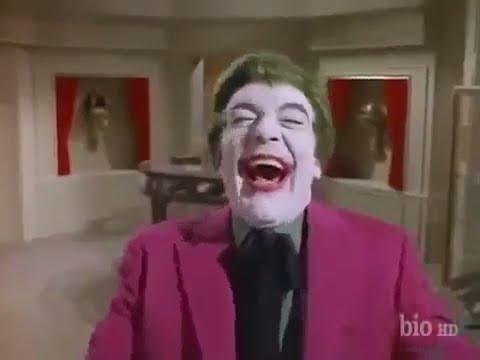 Cesar Romero Joker laughing Better than Mark Hamill
