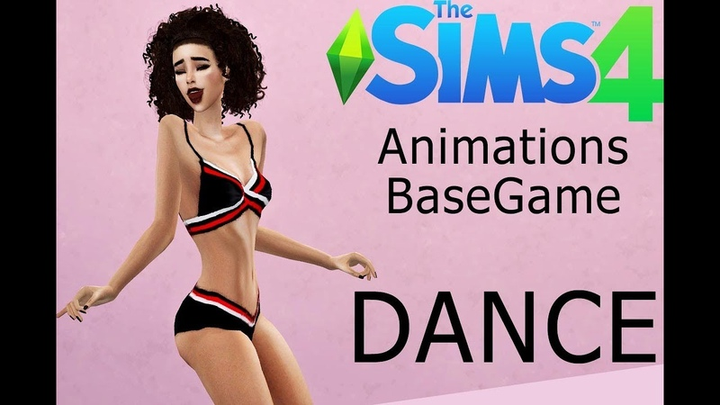 Animations BaseGame The Sims4 DANCE DOWNLOD