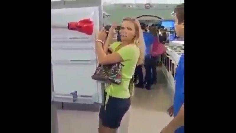 Умный холодильник с функцией программы похудения..... 😂😂😂