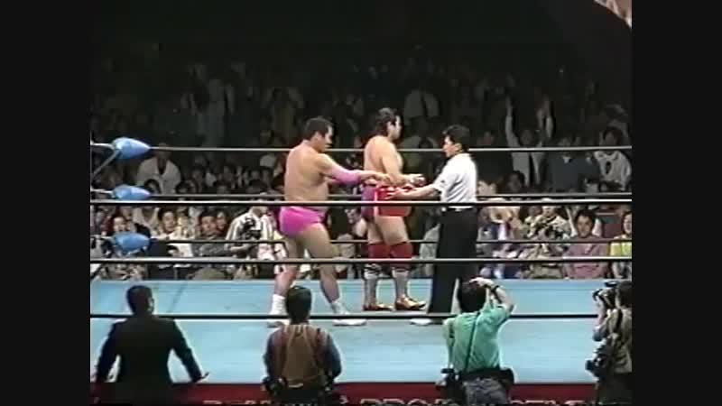 1994.05.18 - Giant Baba/Rusher Kimura vs. Haruka Eigen/Mighty Inoue [JIP]