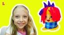 Детская парикмахерская пластилин Плей До Сумасшедшие прически Play Doh Crazy Cuts