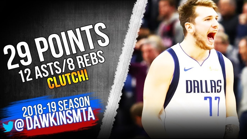 Luka Doncic Full Highlights 2019.01.11 Mavs vs T-Wolves - 29 Pts, 12 Asts, CLUTCH!   FreeDawkins
