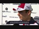 Гран При Абу-Даби: интервью с Шарлем Леклером перед началом гоночного уикенда