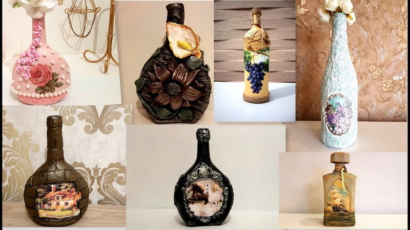 7 glass bottle ideas Diy recycled glass bottles